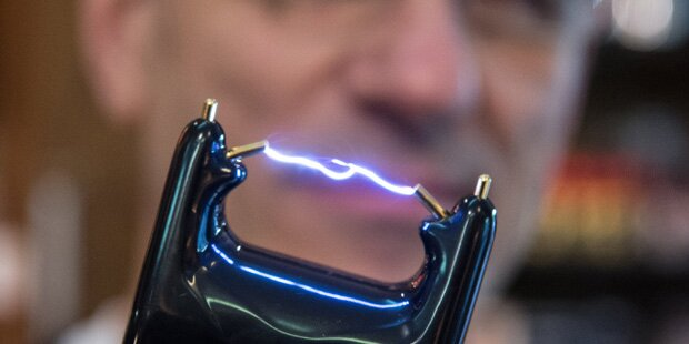 Elektroschocker gegen Taxler - Freispruch