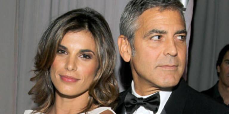 Elisabetta Canalis & George Clooney bei den Emmy Awards