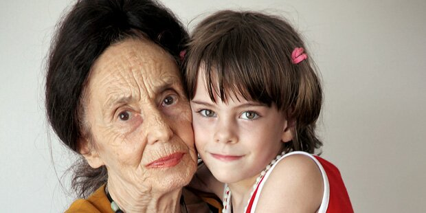 Eliza (12): Meine Mutter ist 78 Jahre alt
