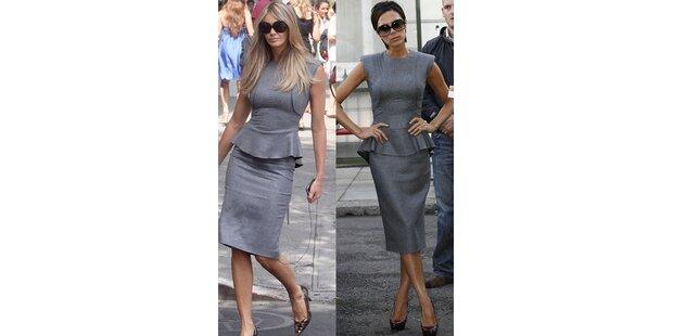 Elle Macpherson trägt Beckhams Kleid