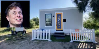 Elon Musk wohnt jetzt in 40 Quadratmeter kleinem Haus