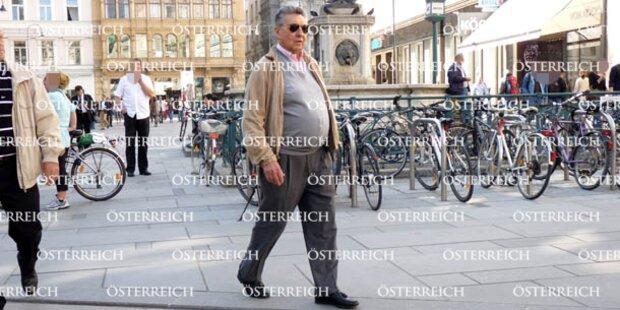 Elsner spaziert in Wien