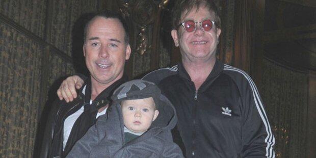 So niedlich ist das Baby von Elton John