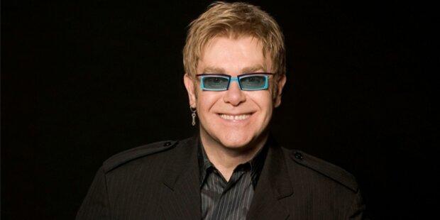 Elton John kippte während Tennisturnier um