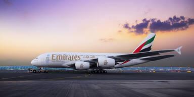 Emirates bringt Airbus A380 nach Wien