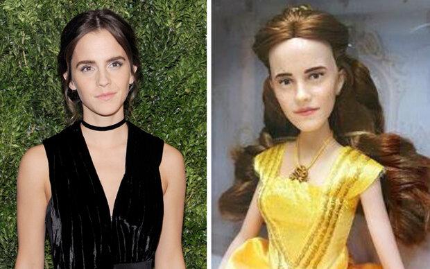 Emma Watson-Puppe sieht aus wie Justin Bieber
