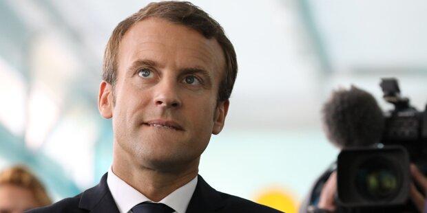 Macron plädiert für Druck auf Nordkorea