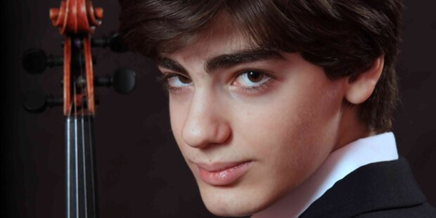 16-Jähriger geigt für Österreich auf