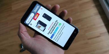 Emporia Smartphone Smart.5 im Test