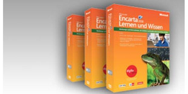 Gewinnen Sie 3x Microsoft Encarta 2008