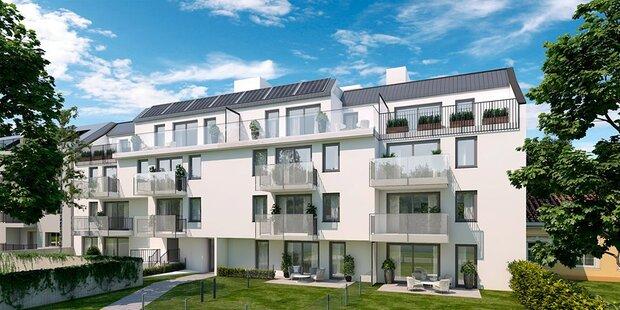 Noch 7 Wohnungen im Top-Projekt in 1230