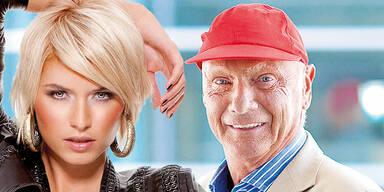 Lena GERCKE & Niki LAUDA / Austria's Next Topmodel