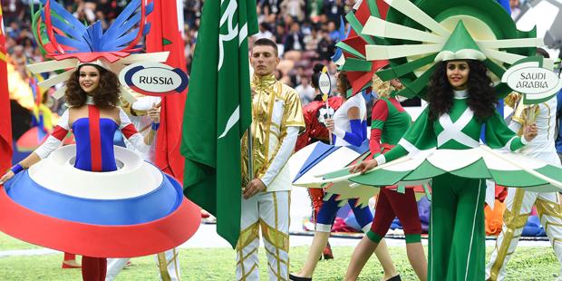 Eröffnungsfeier WM