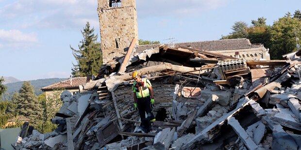Erneut Erdbeben in Italien mit Stärke 4,1