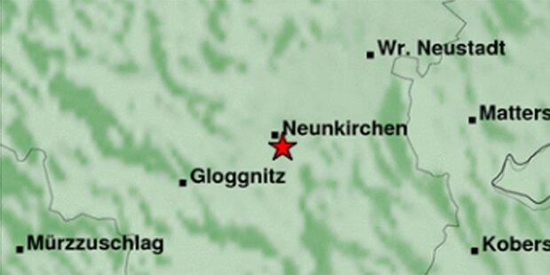 Erdbeben der Stärke 3,7 bei Neunkirchen