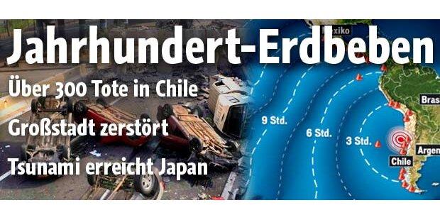 Chile: Siebtstärkstes Beben aller Zeiten