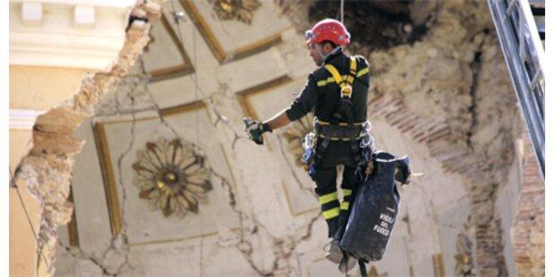Beben-Schäden bis zu 400 Mio. Euro