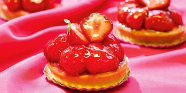 Erdbeeren Törtchen Rezepte Kurkonditorei Oberlaa