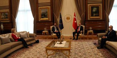 Von der Leyen auf dem Sofa: Türkei verteidigt Sitzordnung