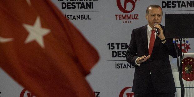 Erdogan: Putsch-Drahtziehern
