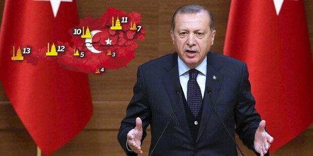 Türkei entlässt fast 4000 weitere Staatsbedienstete