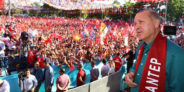 Erdogans Kampf um die Macht