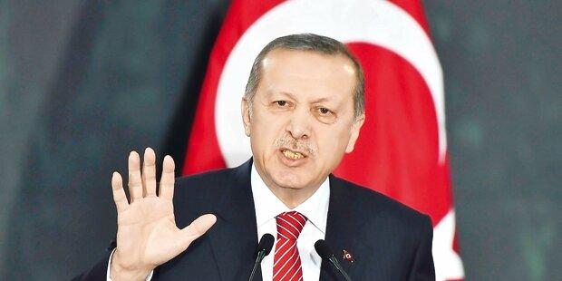 Erdogan erteilt Irak eine Abfuhr