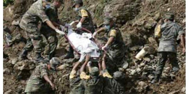 41 Tote bei Erdrutsch in Guatemala