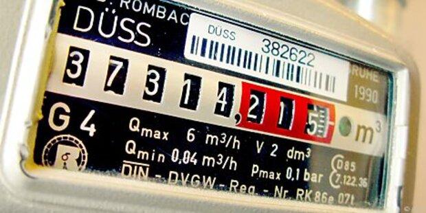 8457 Österreichern wurde 2013 Gas abgedreht