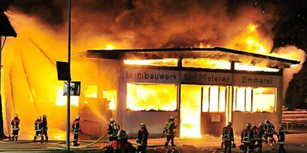 Feuer in Tirol: Blackout in Bayern