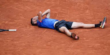 Kitzbühel: Erler gewinnt sein ATP-Debüt