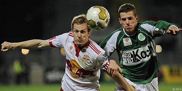 Salzburg plant Sieg gegen Mattersburg ein