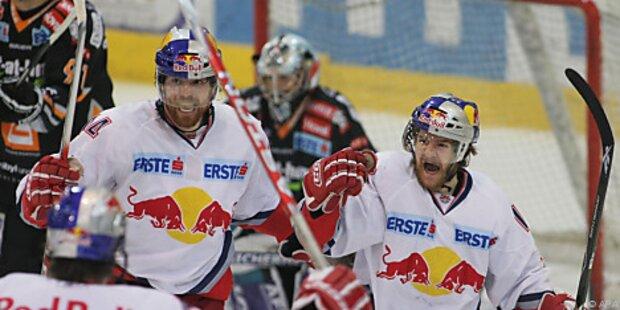 Salzburg zum dritten Mal Eishockey-Meister