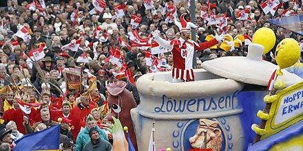 Düsseldorf feiert Karneval