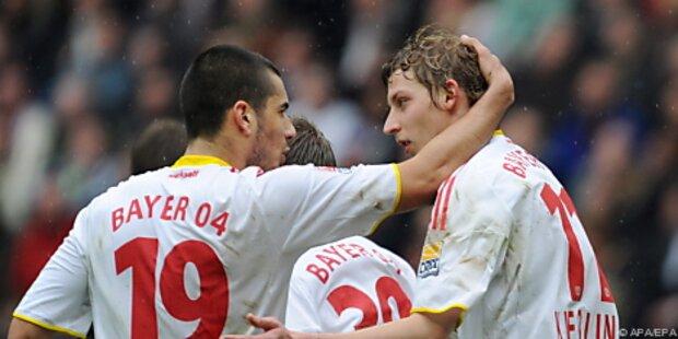 Bayer Leverkusen lässt sich