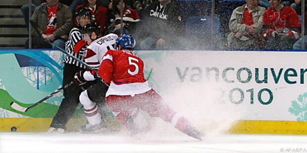 Tschechien mühte sich ins Eishockey-Viertelfinale