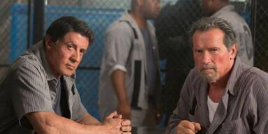 Arnie und Sly brechen aus Gefängnis aus