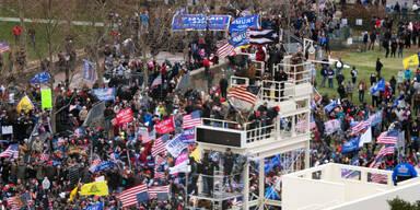 Eskalation in Washington: Trump-Fans wollen Kapitol stürmen