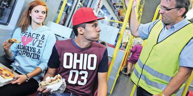 Jetzt fix: Totales Essverbot in allen U-Bahnen