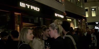 Das Etro Store-Opening!