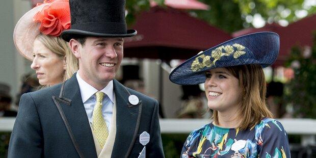 Queen erfreut: Enkelin Eugenie heiratet