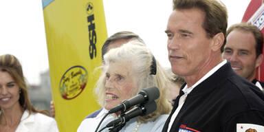 Eunice Shriver & Arnold Schwarzenegger