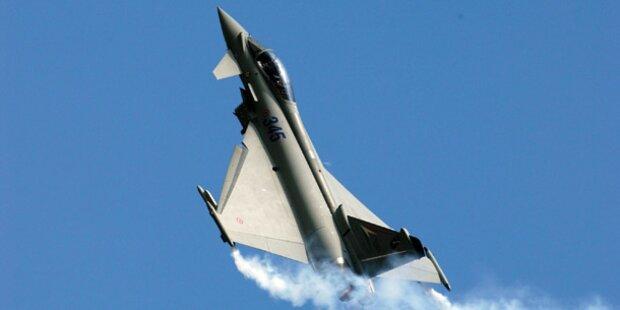 Eurofighter sind zu wenig in der Luft
