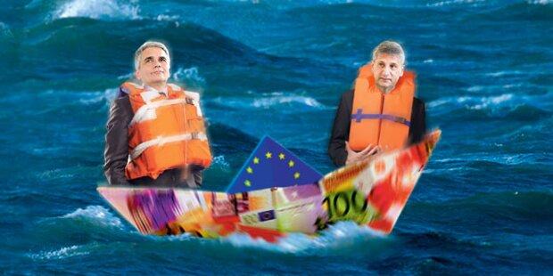Streit um Rauswurf aus Euro