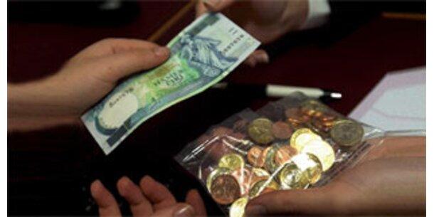 Malta und Zypern führen den Euro ein