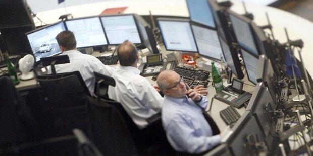 Europas Leitbörsen schließen mit Verlusten