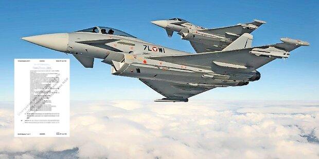 Eurofighter: Geheim-Akte lag offen herum