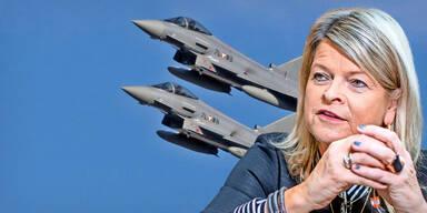 Eurofighter auf Crash-Kurs