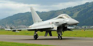 Eurofighter nur mehr Teilzeitkraft