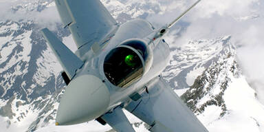 Eurofighter donnern über Tirol